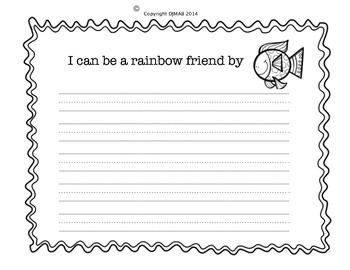 Writing Activity - Rainbow Fish