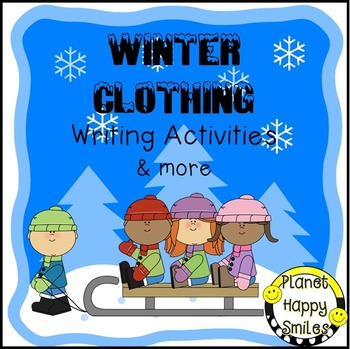 Winter Activity - Winter Clothing Writing (Book, Graphic O