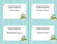Writing Algebraic Expressions Task Cards-Snowman Theme- CC