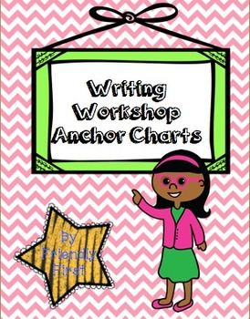 Writing All Year Charts & Teaching Points (1st Grade)