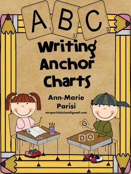 Writing Anchor Charts FREEBIE