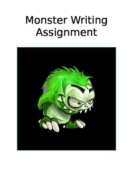 Writing Assignment - Create a monster
