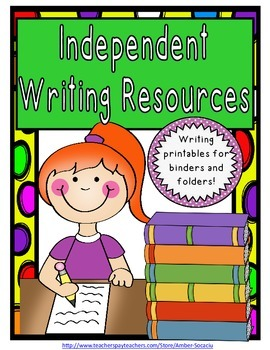 Writing and Language Reference Printables For Journals and