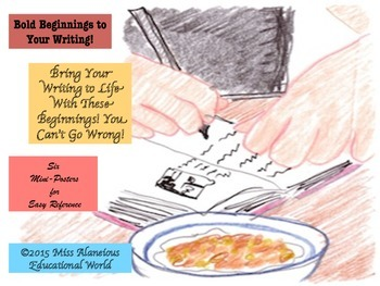 Writing: Bold Beginnings to Bring Students' Writing to Life!