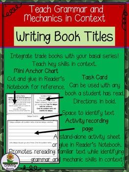Writing Book Titles