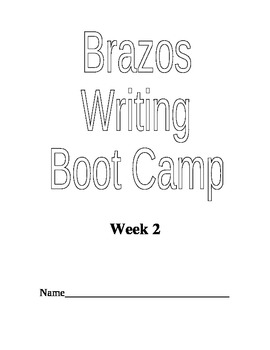 Writing Boot Camp Week 2 Expository Essay