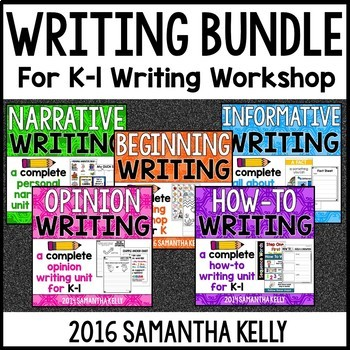 Writer's Workshop Bundle