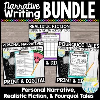 Narrative Writing ELA Bundle {Common Core Aligned} *UPDATED*