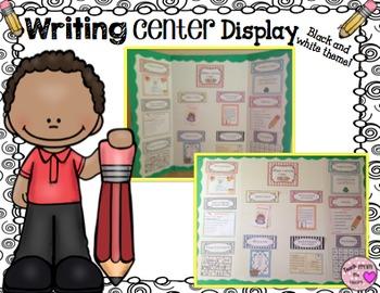 Writing Center (Black and White Theme)