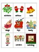 Writing Center Holiday Season Syllable sort, Vocabulary wo
