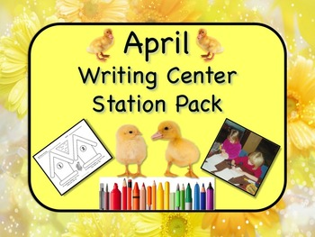 Writing Center Literacy Station for April - Mountains of F
