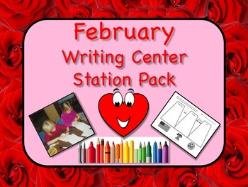 Writing Center Literacy Station for February - Scads of Fu