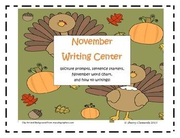 November Writing Center Packet