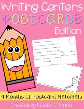 Writing Center: Postcards Edition