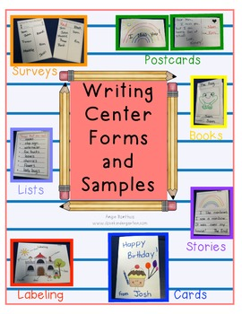 Writing Center Samples and Forms