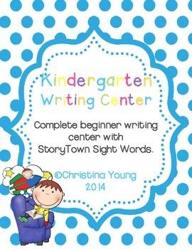 Writing Center Starter Pack (Printables)