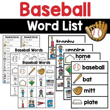 Baseball Words