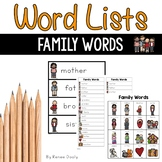 Family Words