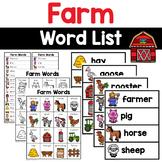 Farm Words