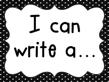 Writing Center/Station: Everything You Need!