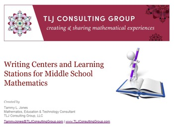 Writing Centers and Learning Stations for MS Mathematics