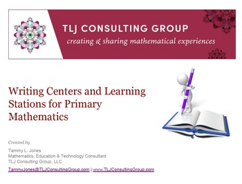 Writing Centers and Learning Stations for Primary Mathematics
