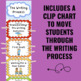 Writing Chart Rainbow BUNDLE