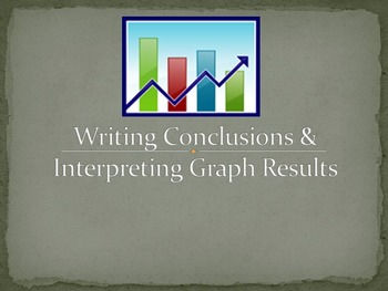 Writing Conclusions Notes