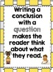 Writing Conclusions: Opinion, Informative, and Narrative Text