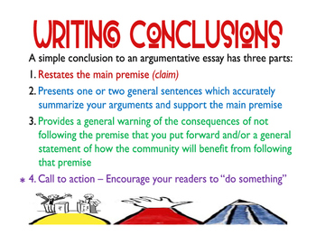 Writing Conclusions for Argumentative Essays