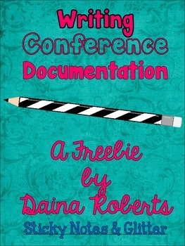 Writing Conference Documentation {Freebie}