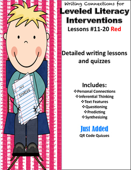 Writing Connections Red LLI #11-20