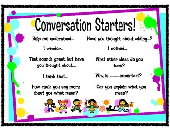 Writing Conversation Starters