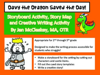 Writing Craftivity with Storyboard and Story Map: Davy the