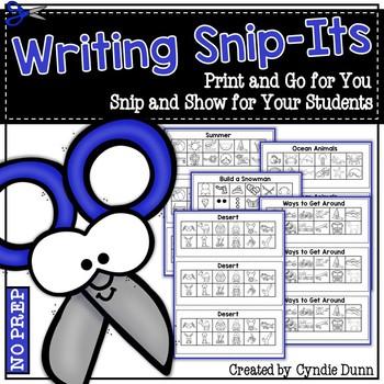Snip Its: Writing