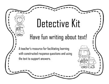 Writing Detective Kit