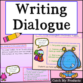 Writing Dialogue With Correct Punctuation (Teacher Evaluat