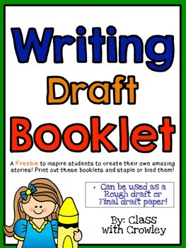 Writing Draft Booklet
