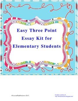 Writing - Easy Essay Format