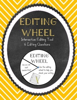 Writing Editing Wheel Revision Tool