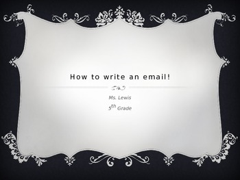 Writing Emails