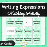 Writing Expressions Matching