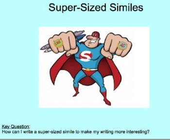 Writing Extended Similes: Spice Up Your Writing