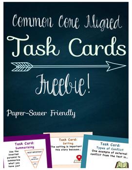 Task Cards Freebie!