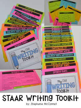 Writing Flip Toolkit-Accommodations for STAAR
