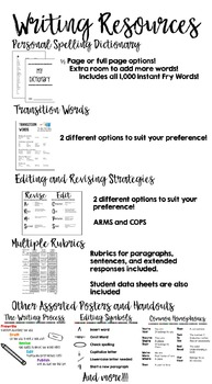 Writing Folder Resources with personal dictionary