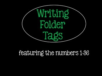 Writing Folder Tags
