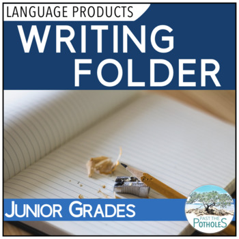 Writing Folder - junior grades