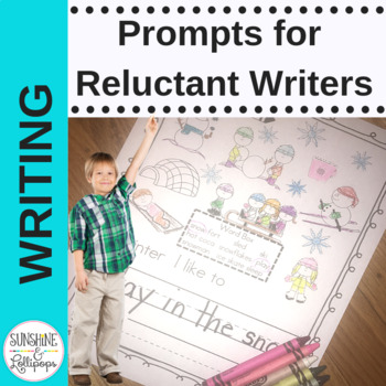 Writing Prompts for Reluctant Writers, Interventions, ELL,