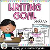 #springbackin Writing Goal Posters